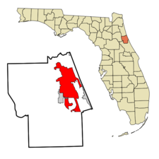 Location In Flagler County And The State Of Florida