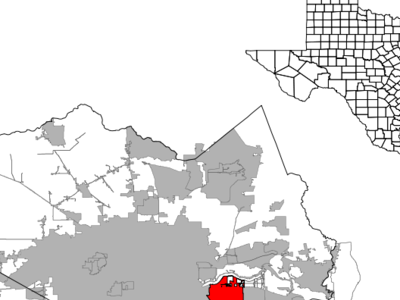 Location In Harris County In The State Of Texas