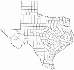 Location Of Pecos Texas