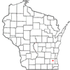 Location Of Pewaukee City Wisconsin
