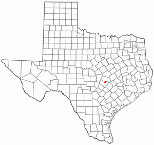 Location Of Pflugerville Texas