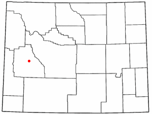Location Of Pinedale Wyoming