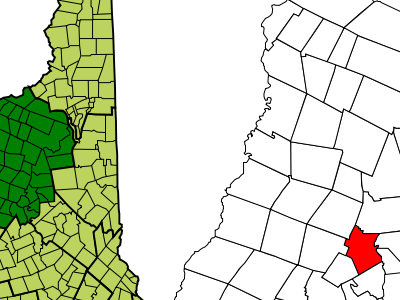 Location In Grafton County New Hampshire