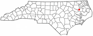 Location Of Plymouth North Carolina