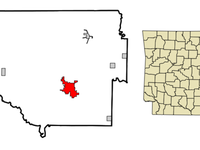 Location In Randolph County And The State Of Arkansas