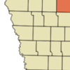 Location Of Pocahontas Iowa
