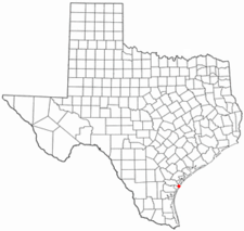 Location Of Port Aransas Texas