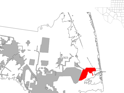 Location Of Port Isabel Texas