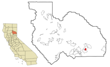 Location In Plumas County And The State Of California