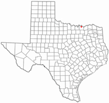 Location Of Pottsboro Texas