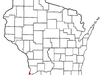 Location Of Prairie Du Chien In Crawford County Wisconsin