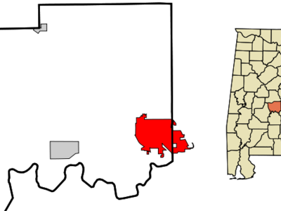 Location In The State Of Alabama