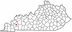 Location Of Princeton Kentucky