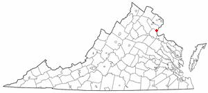 Location Of Quantico Virginia