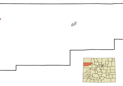 Location In Rio Blanco County And The State Of Colorado