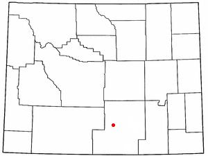 Location Of Rawlins Wyoming