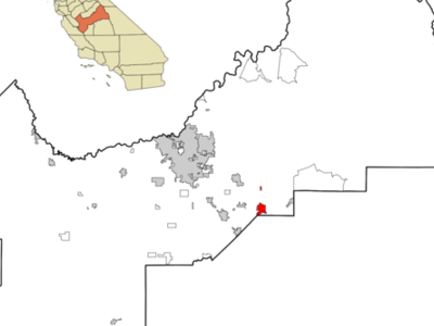Location In Fresno County And The State Of California