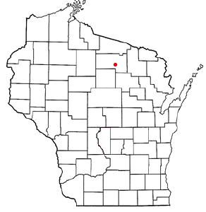 Location Of Rhinelander Wisconsin