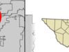 Location Of Richland Hills In Tarrant County Texas