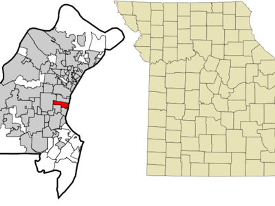Location Of Richmond Heights Missouri