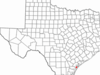 Location Of Rockport Texas