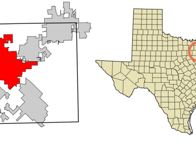 Location Of Rockwall In Rockwall County Texas