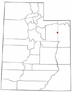Location Of Roosevelt Utah