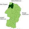 Location Of Sakata In Yamagata
