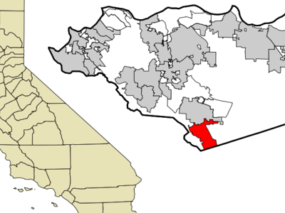 Location In Contra Costa County And The State Of California