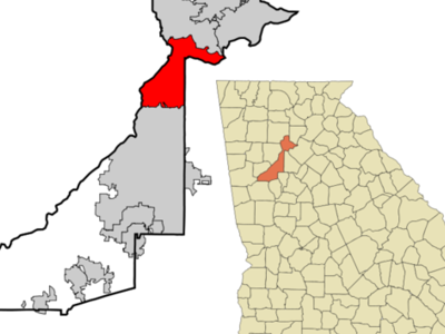 Location In Fulton County And The State Of Georgia