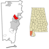 Location Of Saraland