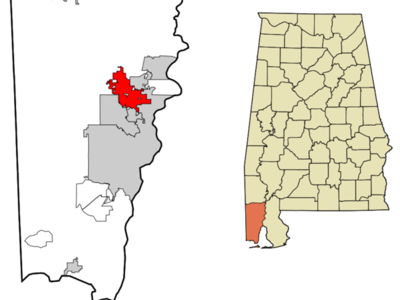 Location Of Saraland