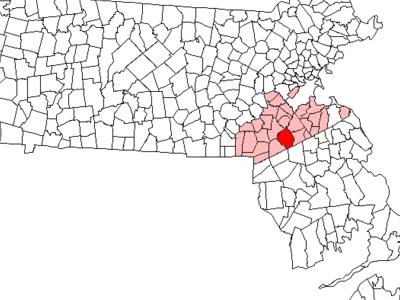 Location In Norfolk County In Massachusetts