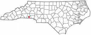Location Of Shelby North Carolina