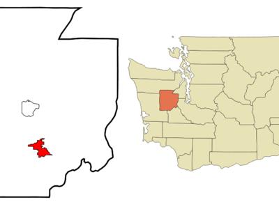 Location Of Shelton Washington