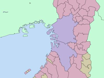Location Of Shimamoto In Osaka