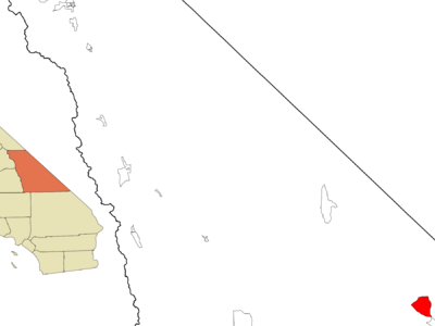 Location In Inyo County And The State Of California