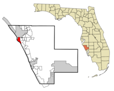 Location In Sarasota County And The State Of Florida