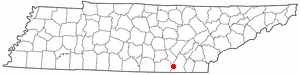 Location Of Signal Mountain Tennessee