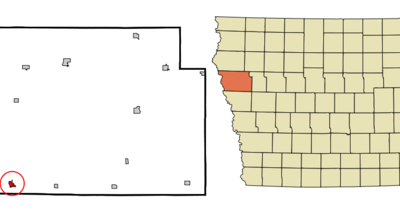 Location Of Sloan Iowa