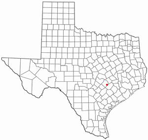 Location Of Smithville Texas