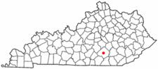 Location Of Somerset Kentucky