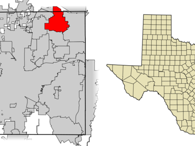 Location Of Southlake In Tarrant County Texas