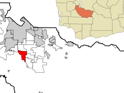 Location Of Spanaway Washington