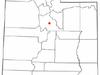 Location Of Spanish Fork Utah