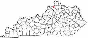 Location Of Sparta Kentucky