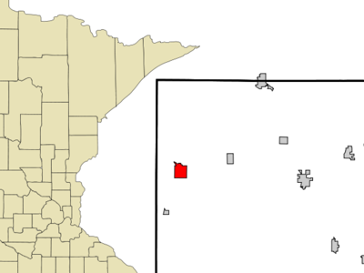 Location Of Spring Valley Minnesota