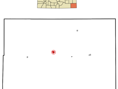 Location In Baca County And The State Of Colorado