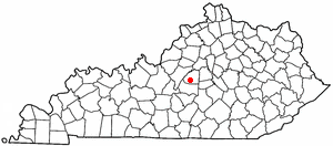 Location Of Springfield Kentucky