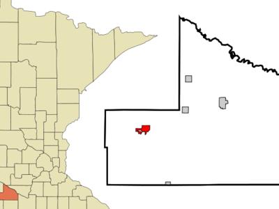 Location Of Springfield Minnesota